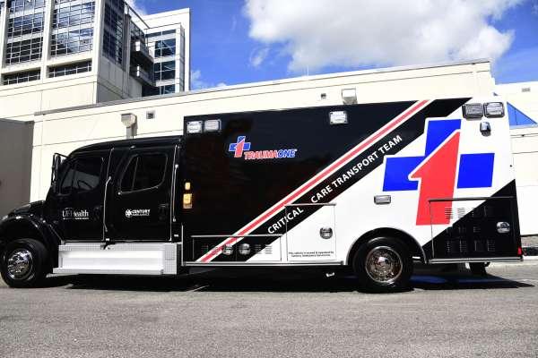 UF Health TraumaOne Critical Care Transport