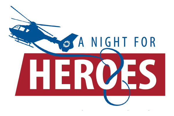 A Night for Heroes logo